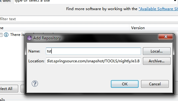 Install Eclipse 3 8 2 and STS 3 2 0 on Windows - Spring - makble