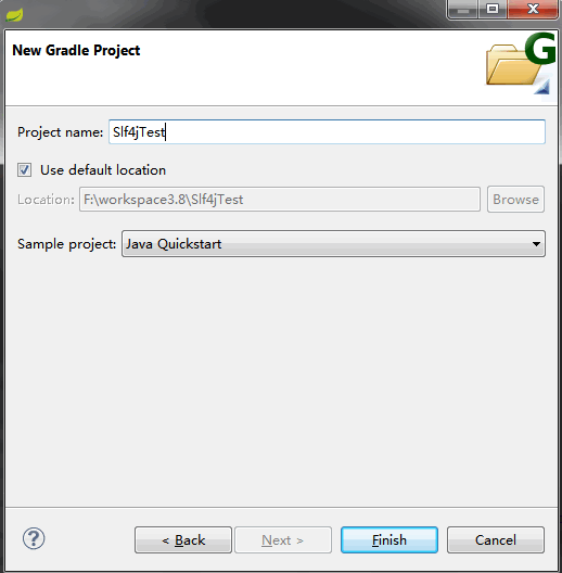Gradle Slf4j integration example with Eclipse - Java - Makble