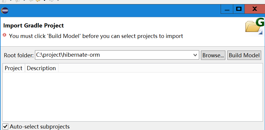 How to import Gradle project into Eclipse - Gradle - Makble